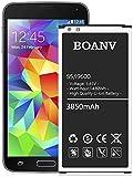 [3850mAh] Galaxy S5-Akku, (Upgrade) Ersatzakku für Samsung Galaxy S5 EB-BG900BBU G900V I9600 G900H G900A G900T G900P G900R4 G900BVB-Akkus
