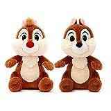 Disney Rescue Rangers officiel 18cm Chip & Dale Chipmunk douce peluche Jouets