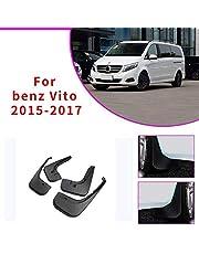 mmq Mercedes-Benz Vito V-Class W447 2015 2016 2017 Mejorado Fender y Body Parts Black 4 Pack