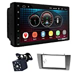 UGAR EX6 7' Android 6.0 DSP Radio de Coche Plus 11-689 Kit de salpicadero Compatible para Jaguar X-Type 2002-2008, S-Type 2003-2008