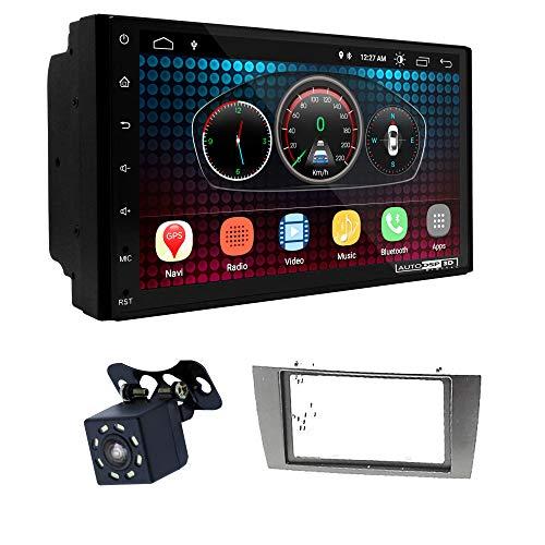 UGAR EX6 7 pollici Android 6.0 DSP Navigazione GPS per Autoradio + 11-689 Kit di Montaggio compatibile per Jaguar X-Type 2002-2008, S-Type 2003-2008