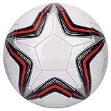 VGEBY Ballon de Football de La Taille 5, Ballon Sportif de Qualité Physique pour l'Entraînement de Sport en Plein Air, Accessoire de Football