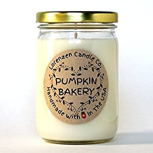 Pumpkin Bakery Soy Candle, 12oz | Handmade in the ...