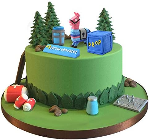SUYEPER Game Cake Topper Cake Decoration For Birthday Party Game Party Birthday Cake Topper product image