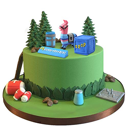 SUYEPER Game Cake Topper Cake Decoration For Birthday Party Game Party Birthday Cake Topper Set