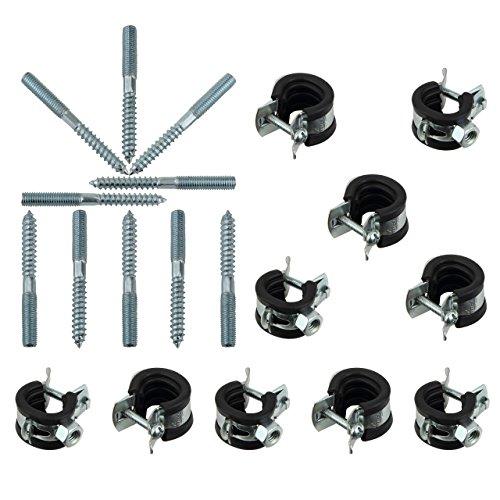 Rohrschellen Set 20-23 mm 1/2