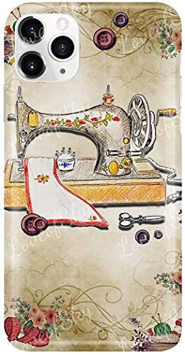 Sewer Colorful Vintage Sewing Machine Phone Case The Best Silicone Phone Case for iPhone 11/11 ProMax X/XS/XR/6,7,8, Samsung Note 8/S8/S9, Note 10/S10e/Plus