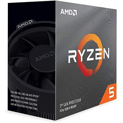 1位:AMD Ryzen 5 3600 with Wraith Stealth cooler 100-100000031BOX(画像は『Amazon.co.jp』より引用)