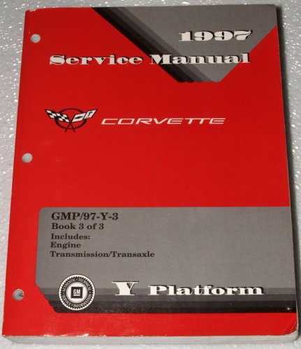 corvette factory service manual - 7