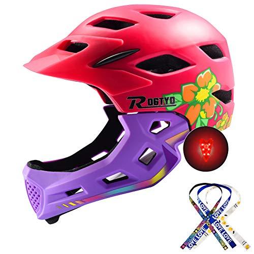 Bicicleta Para Niños Casco Integral Seguridad Para Niños Montar En Patineta Casco...
