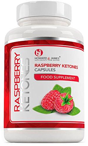 Raspberry Ketones 120 Capsules 2000mg Daily Serving | Vegetarian & Vegan Friendly Capsules | Max Strength for Men or for Women (120 Capsules)