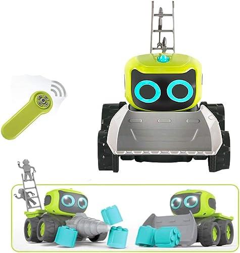 mejor marca Vehículos de construcción construcción construcción de Bricolaje Control Remoto eléctrico Coche Control inalámbrico Camión Incorporado LED Light Kid's Toy  de moda