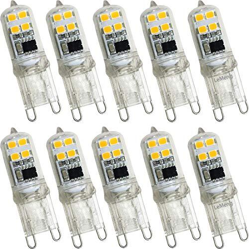 oven light bulb halogen g9 20watt - 3