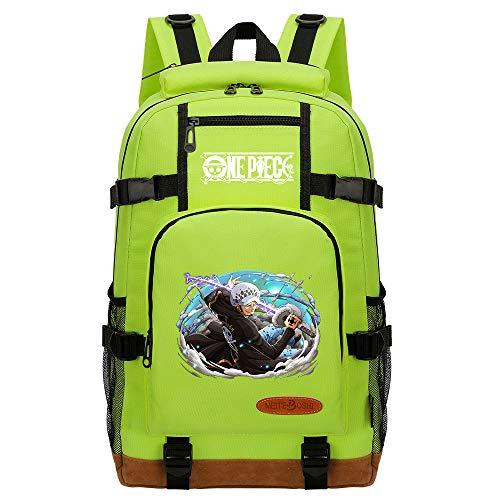 CXWLK Backpack Mochila Tipo Casual Bandolera La Bolsa De Mensajero Bolsa De Bolsa De Hombro Messenger Bag Mochila De Gran Capacidad,One Piece,Green,46cmX29cmX13cm