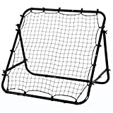 HOMCOM Rebounder Net Kickback Target Goal Teens Adults Training Aid Multi-Sports Practice Adjustable