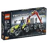 LEGO TECHNIC Log Loader (8049) by LEGO (English Manual)