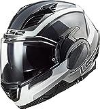 LS2, casco moto modulare VALIANT II orbit jeans, XXL