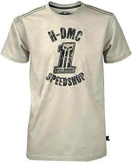 Men's Black Label Speed Shop Short Sleeve T-Shirt Cream 30291528