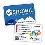 2 x Snowitcard - Tesssera skipass Online Multi-località