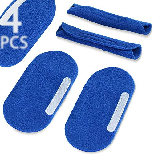 Medihealer CPAP Strap Covers-4 Pack Headgear Strap Cover for Philips Dreamwear Headgear,Comfort CPAP Pads Strap Covers for Airfit P10 Mask Strap|Non-Irritation&No Red Marks, Great Value Kit Supplies