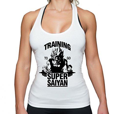 THE LION Goku Super Saiyan Golds Goku Gym Camiseta sin
