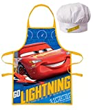 Palleon Cars Kinder Koch-Set Kochschürze und Kochmütze
