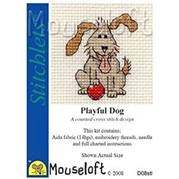 Bathtime Mouseloft Little Dog Cross Stitch Kit