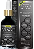 Fulvic Acid and Humic Acid Trace Mineral Drops + Electrolyte! 180 Servings. All Natural Organic Plant Derived Blend of Ionic Trace Minerals from Fulvic and Humic Acid. Powerful Supplement.New Formula