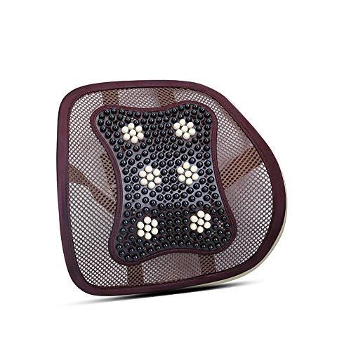 Cojines De Apoyo Para La Espalda Baja Trasero de la silla del asiento de soporte del asiento trasera de la ayuda del cojín elástico for la oficina silla de coche puede aliviar o prevenir superior o in