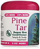 Pine Tar Super Gro Hair and Scalp Bonus, 6 Ounce 6.0 Ounce