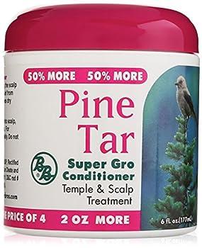 Pine Tar Super Gro Hair and Scalp Bonus 6 Ounce 6.0 Ounce