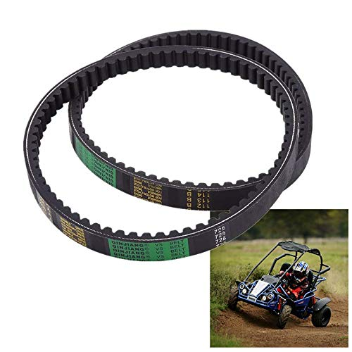 Clutch Belt,Drive Belt Clutch Belt for Hammerhead 80T and TrailMaster Mid XRX Go-Karts 9.100.018-725(Pack of 2)