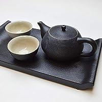 天香茶行 台湾陸宝 書香品茗茶器セット(黒) 茶器 茶具 茶壺 セット ギフト
