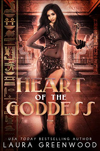Heart Of The Goddess The Queen Of Gods Egyptian Mythology Laura Greenwood fantasy romance