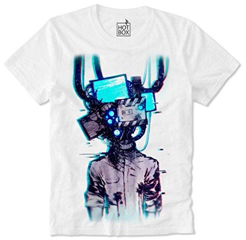 Hotbox T Shirt Cyber Punk Cyberpunk Japan Anime Manga L
