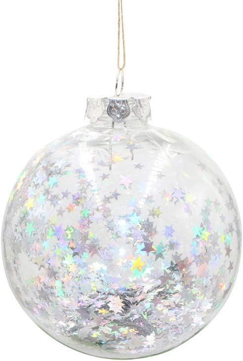 Christmas Plastic Photo Five-star Ball Christmas Decorations Xmas Tree Hanging