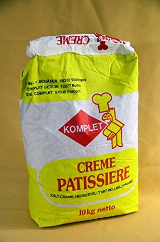 Kaltcreme Creme Pattisiere 10kg