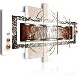 murando - Cuadro de Cristal acrílico 200x100 cm Impresión de 5 Piezas Pintura sobre...