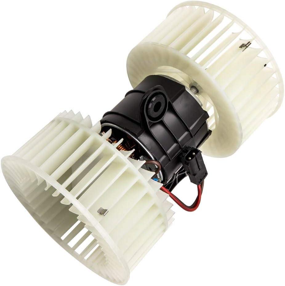 maXpeedingrods Soplador de Resistor para BMW 5 Series E39 1995-2004 X5 E53 2001-2006,Ventilador Interior de Resistencia del Motor, Calentador de Aire Acondicionado 8385558 64118372493 8385558