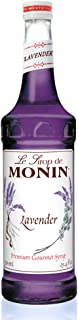 Monin - Lavender Syrup, Aromatic and Floral, Natural Flavors, Great for Cocktails, Lemonades, and Sodas, , Non-GMO, Glute...