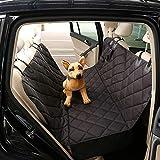 WAFOR Kofferraumschutz Hunde, Universal Pet Car Boot Cover Schutz rutschfeste Waschbar Mit Ladeklappe Wasserdicht Mat Dog Blanket Schichten Passt Autos, Lkws, SchräGheck, SUV