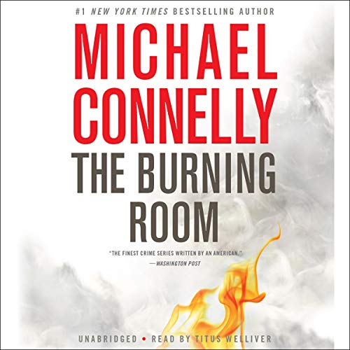 Page de couverture de The Burning Room