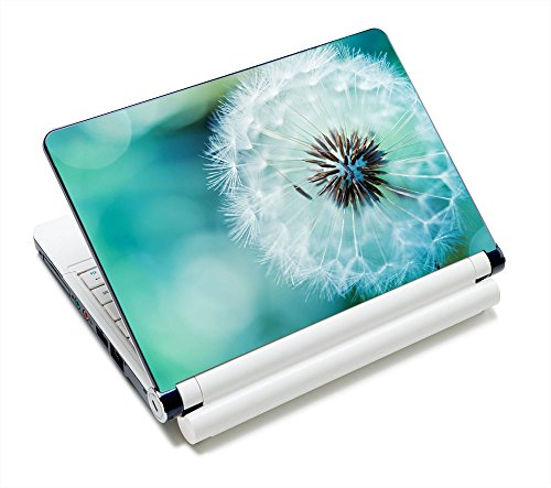 Laptop Skin Sticker Decal,12' 13' 13.3' 14' 15' 15.4' 15.6 inch Laptop Skin Sticker Cover Art Decal Protector Notebook PC (Dandelion)
