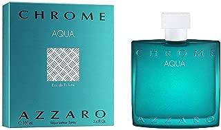 Azzārŏ Chrŏmė Aqua Cologne for Men 3.4 fl. Oz / 100 ml Eau De Toilette Spray