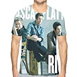 Nathalie R Salmeron Rascal Flatts Men Graphic T-Shirts XL White