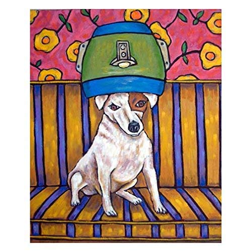 Jack Russell Terrier at the signed latest dog print art Ranking TOP14 Salon