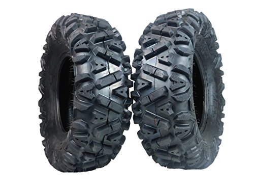 Two 26x9-12 KT MASSFX big TIRE SET for ATV TIRES SIX PLY 26' horn...