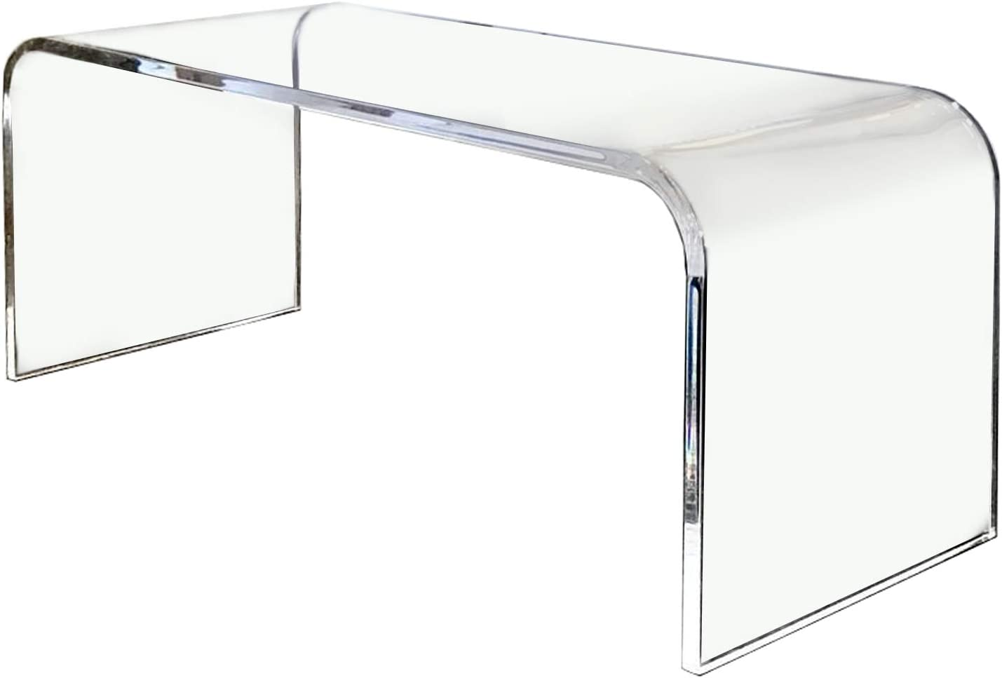 "southeastflorida Acrylic Coffee Table 32"" x 16"" x 16"" high x 3/4"" thick premium domestic material"