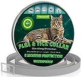 Collar antipulgas y garrapatas para Gatos, resistente al aqua, protección activa de hasta 8 Meses, 33 centimetros, para qualquier tamaño de gato