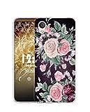 Sunrive Funda Compatible con HTC Desire 825, Silicona Slim Fit Gel Transparente Carcasa Case Bumper...